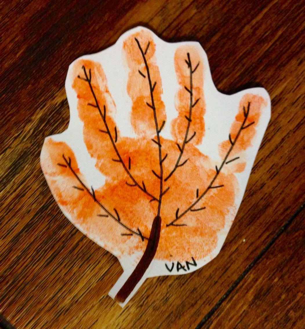 Handprint Leaf