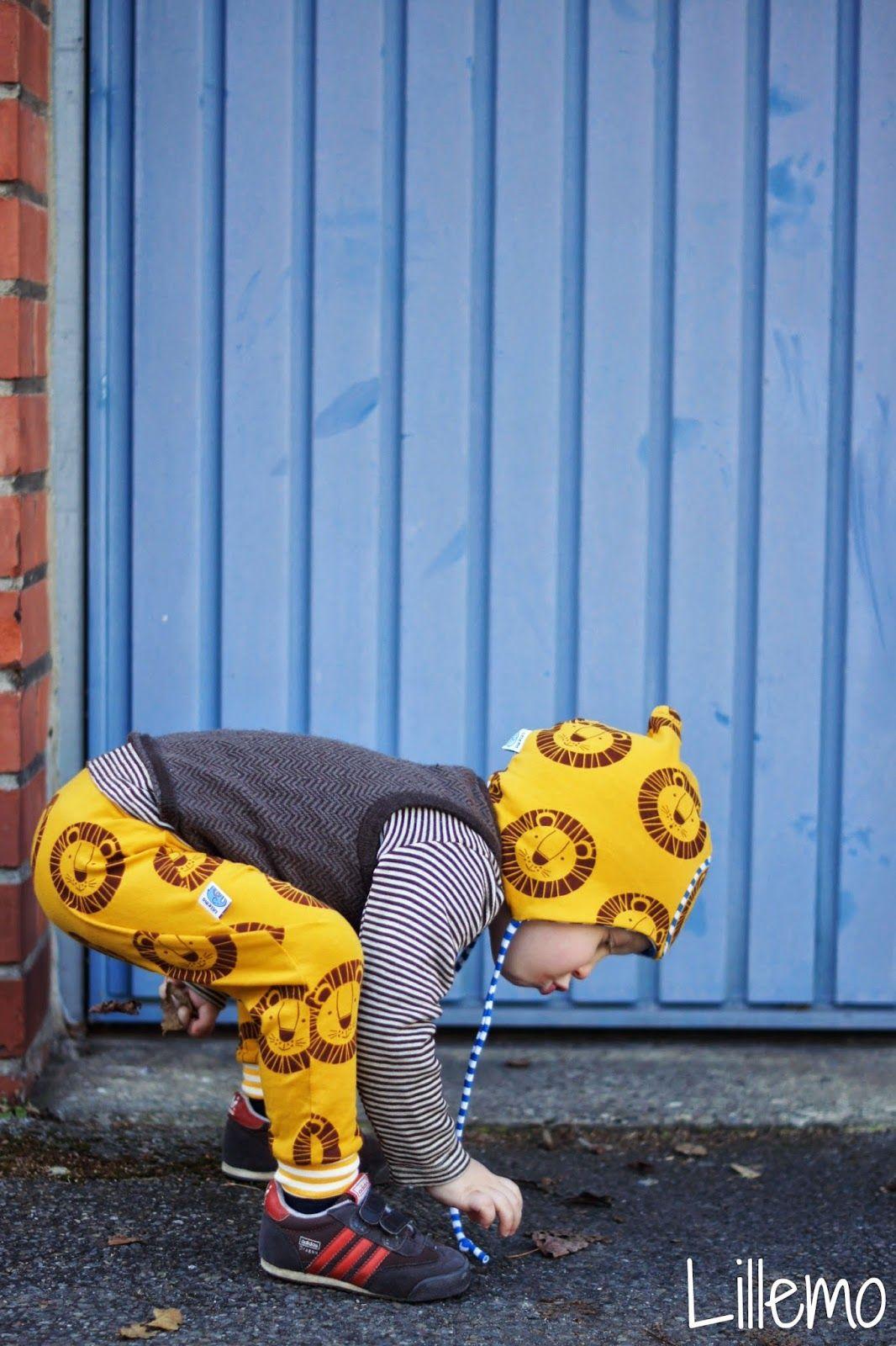lillemo lillestoff fabric stoff löwe Bo lion | sewing pattern ...