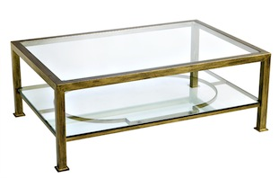 Table Basse En Fer Forge Et Verre Table Basse Table Basse Fer Mobilier De Salon