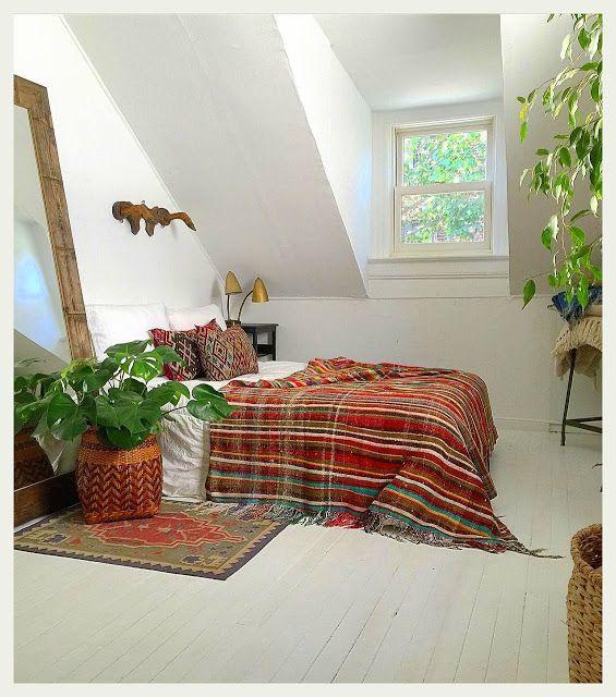 Bedroom Color Ideas India: ボヘミアン・インテリア(Boho-Chic Interior)