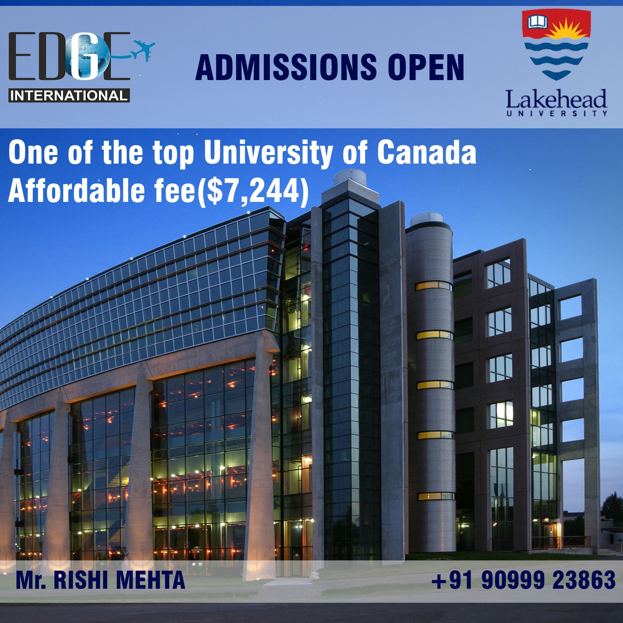 Study At Lakehead University In Canada Lakehead Is A Public University With Campuses In Thunderbay O Top Universities Overseas Education Lakehead University