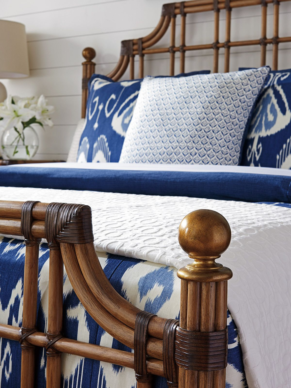 Best St Kitts Rattan Bed Home Decor Bedroom Rattan 400 x 300