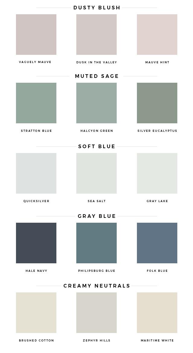 spring color palette – Mint Modern Home