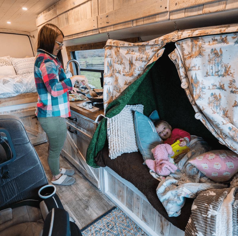 Best Camper Van Layouts For Families In 2020 Camper Van