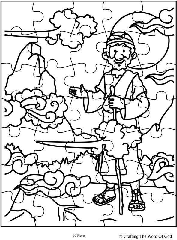 Elijah At Horeb Puzzle Day 2
