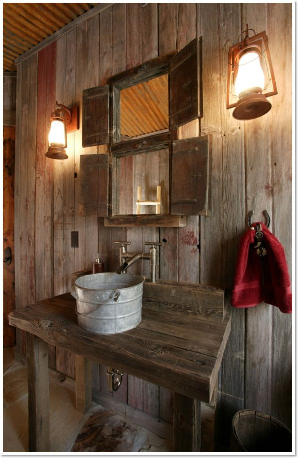 42 Rustic Bathroom Ideas You Will Love