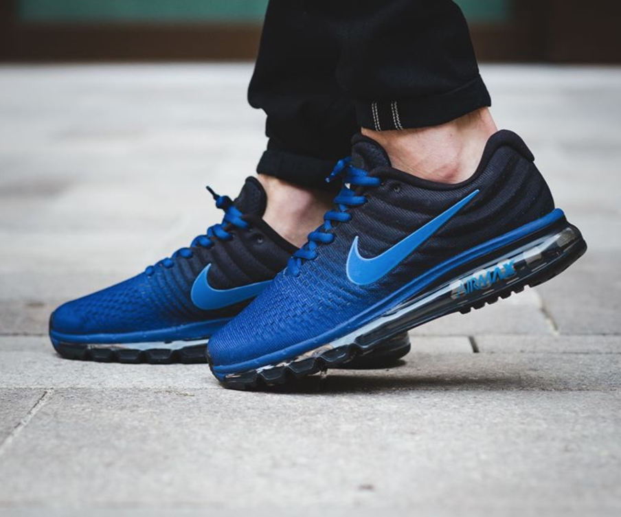 Nike Air Max 2017 - Deep Royal Blue   Hyper Cobalt - Black ... f540b4a8106a