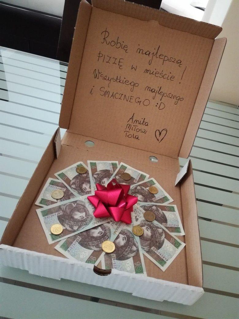 Prezent Na Urodziny Pizza Pakowanie Prezentow With Images