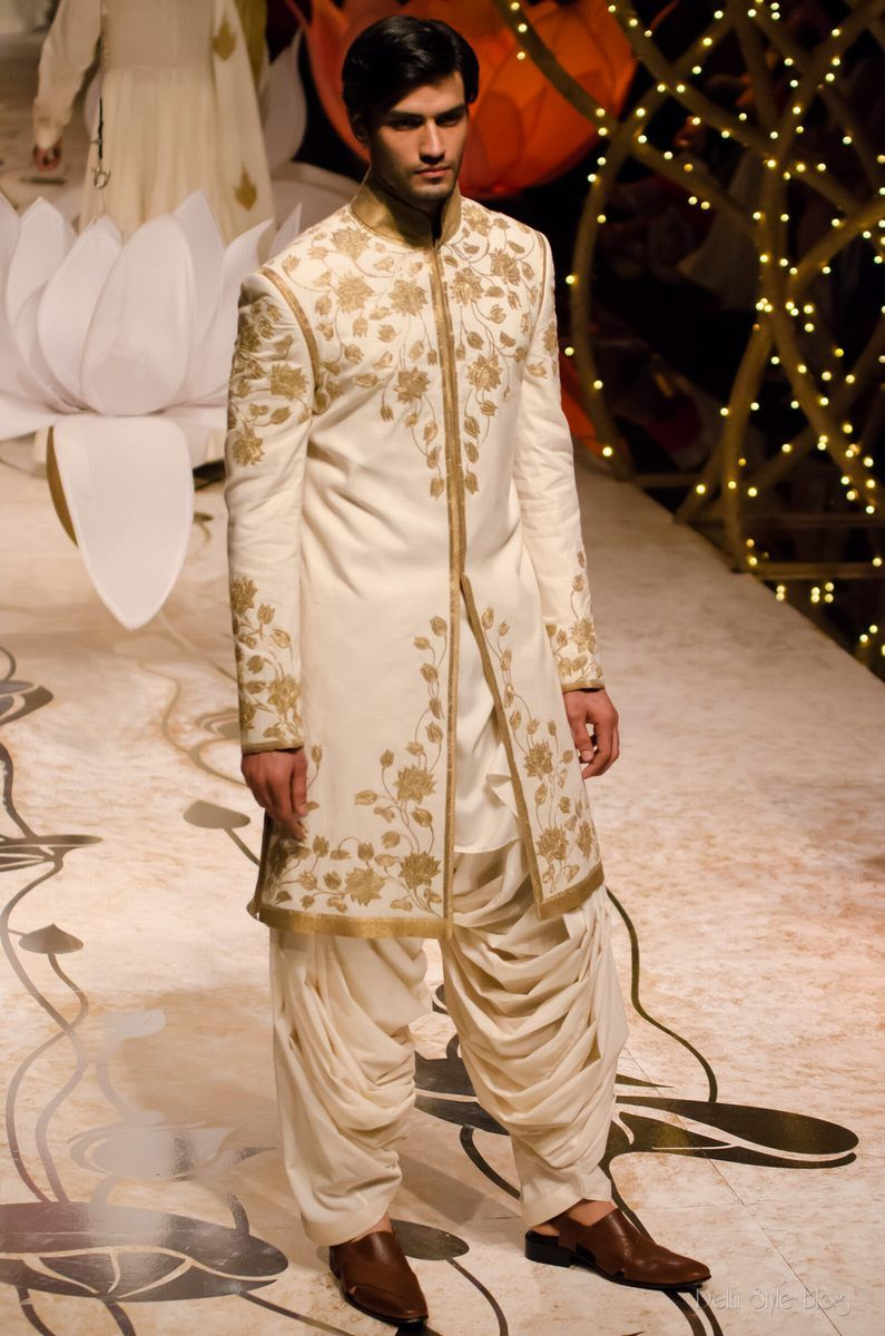 Indian fashion rohit bal indian wedding groom mens wear