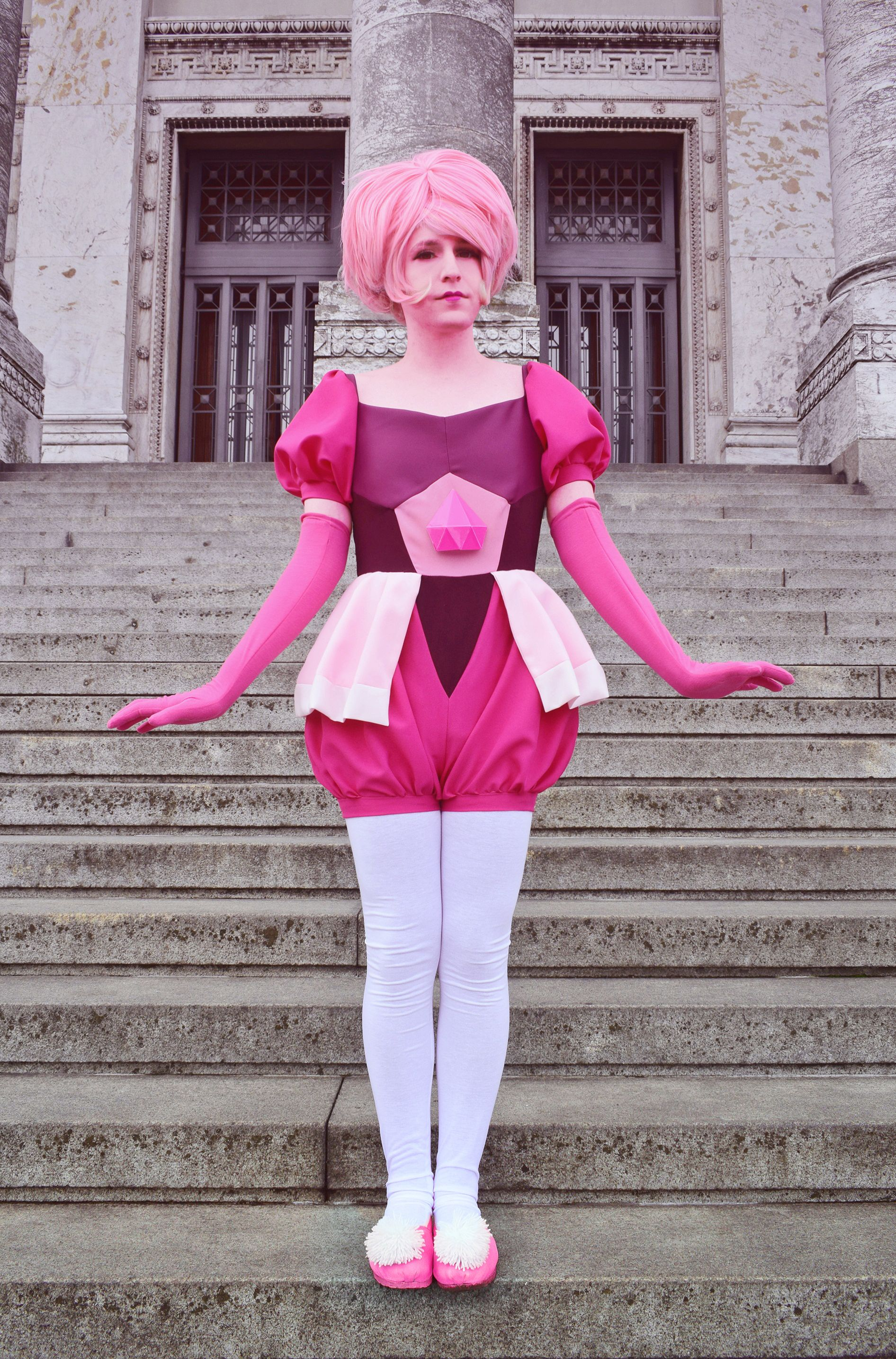 Steven Universe cosplay Pink Diamond costume Stevonnie