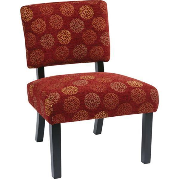 Jasmine Accent Chair Kohls: Office Star Avenue Six® Wood Jasmine Accent Chair, Blossom