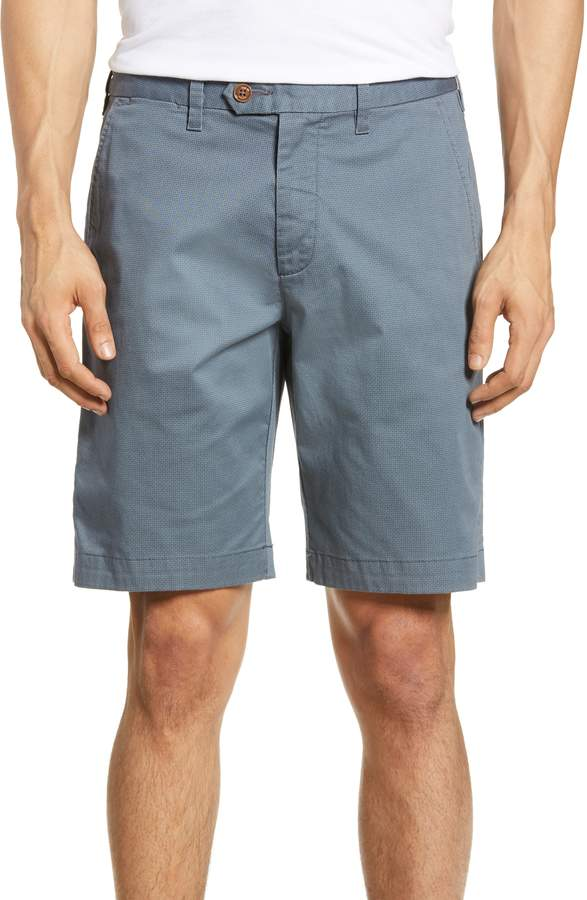 fa5f3bc203 Men's Ted Baker London Shorlid Slim Fit Geo Print Chino Shorts, Size ...