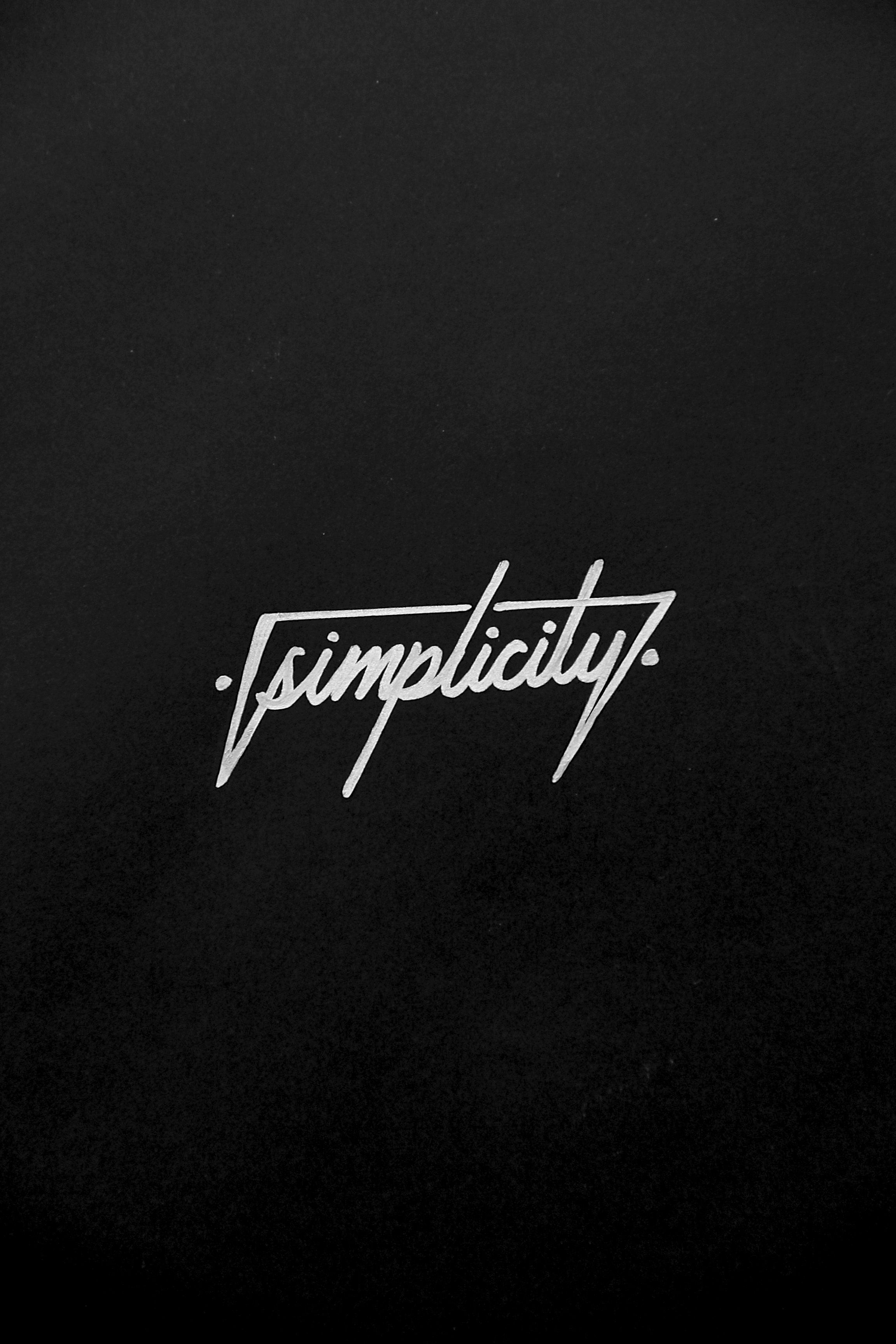 """""""Simplicity""""  By:@ITS_A_LIVING   Instagram:itsaliving"""