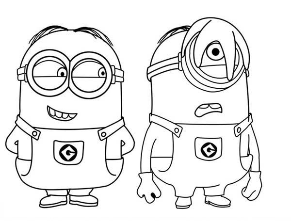 minions coloring pages banana split - photo#9