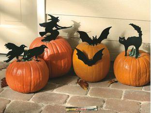 black metal pumpkin decorations - Pumpkin Decorations