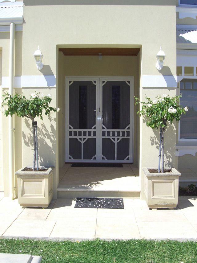 Decorative Security Screen Doors security screen doors | stainless steel security doors, secure