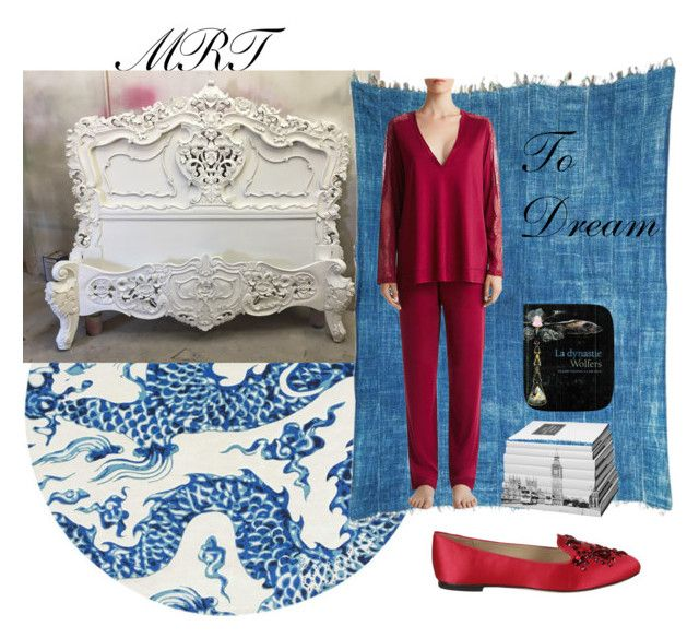 Time for bed! by meesh57 on Polyvore featuring La Perla, Tory Burch, Gandà a Blasco and Royal Copenhagen