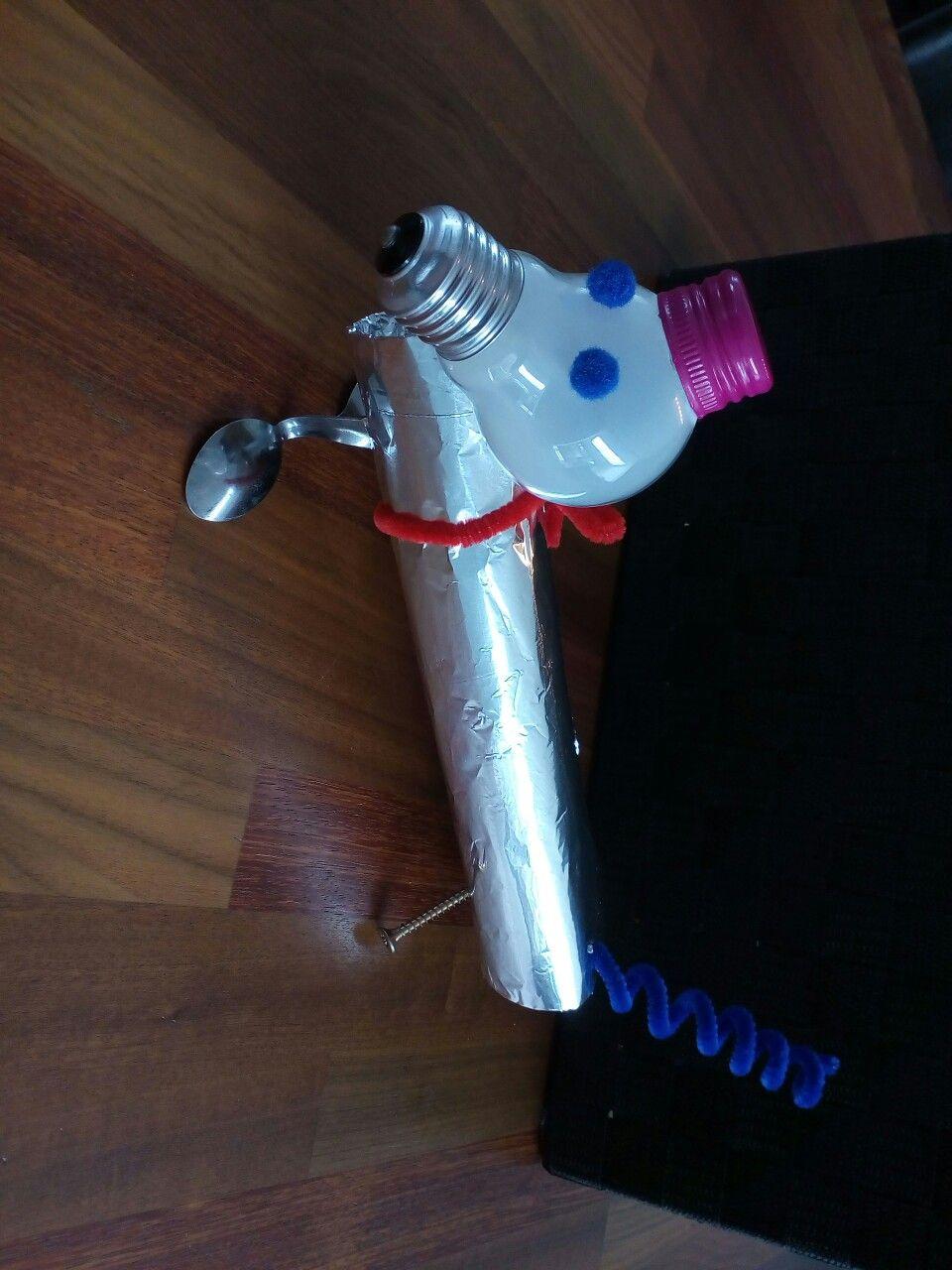 Robot hond knutsel diy