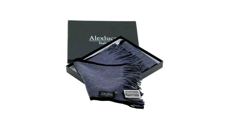 Bufanda Luomo de Alexluca para #regalos de empresa, #merchandising o uso personal. Más información sobre el regalo en: http://www.regalodeempresagsr98.es/regalos-merchandising/bufanda-luomo-alexluca-9804/