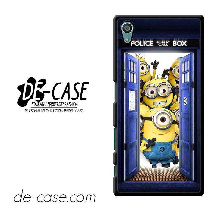 Tardis Despicable Minion Design DEAL-10464 Sony Phonecase Cover For Xperia Z5