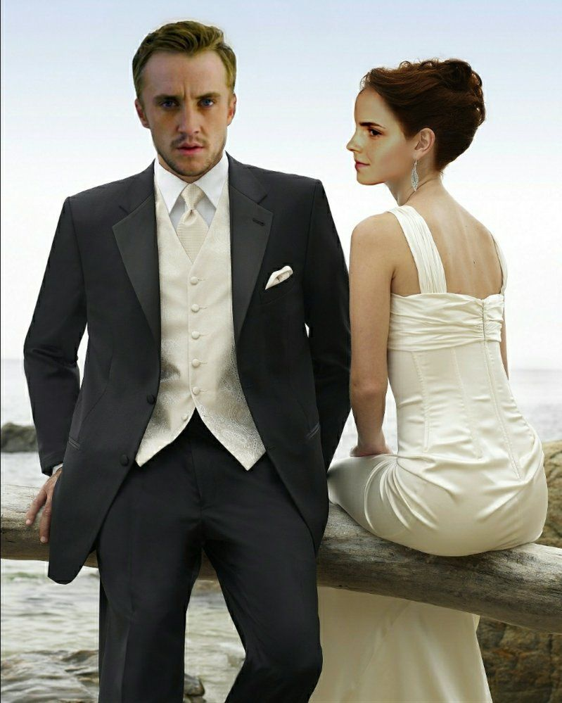 Pin By Diana On Dramione Wedding Suits Men Black Vest And Tie Wedding Suits
