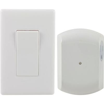 Wireless remote wall switch light control with grounded outlet ge wireless remote wall switch light control with grounded outlet receiver 18279 18279 at mozeypictures Image collections