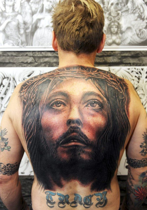 43a5b9772 20 Holy Jesus tattoos | Jesus Tattoo | Jesus tattoo, Tattoos ...