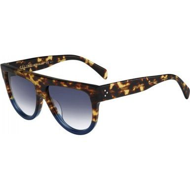 6790729dc3c Celine 41026 FU9DV Tortoise Blue Shadow Aviator Sunglasses Lens Category 2    Click image for more details.Note It is affiliate link to Amazon.
