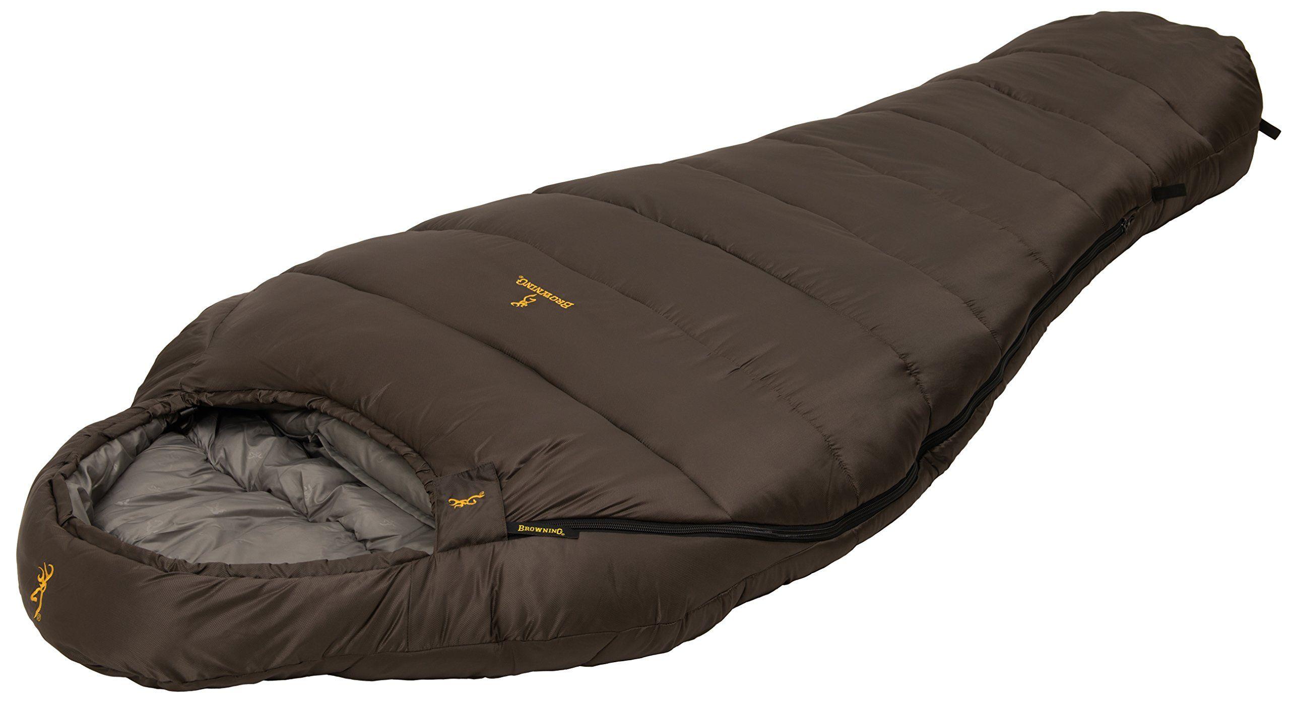 Browning Camping Denali 0 Degree Wide Sleeping Bag Frigid Weather Mummy Sleeping Bag With Techloft Insula Camping Bed Mummy Sleeping Bag Sleeping Bags Camping