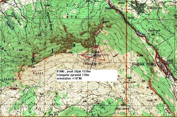 rtanj mapa Rtanj Mountain | maps | Pinterest rtanj mapa