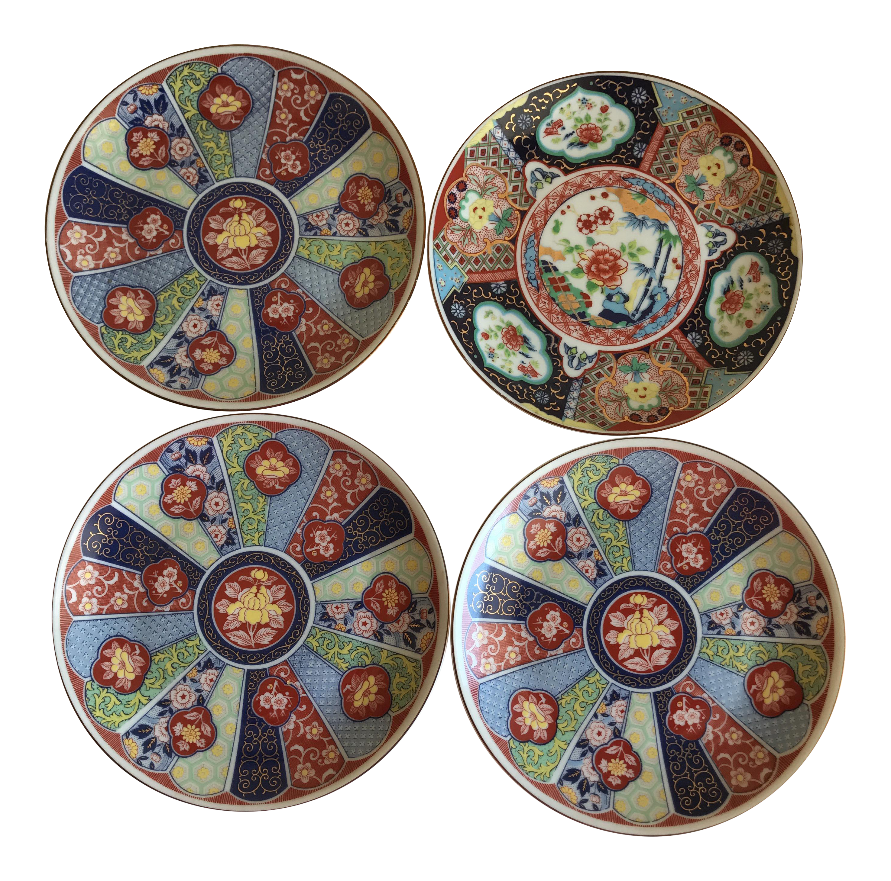 Lotus Floral Japanese Plates - Set of 4  sc 1 st  Pinterest & Lotus Floral Japanese Plates - Set of 4 | Lotus Japanese and Wall decor