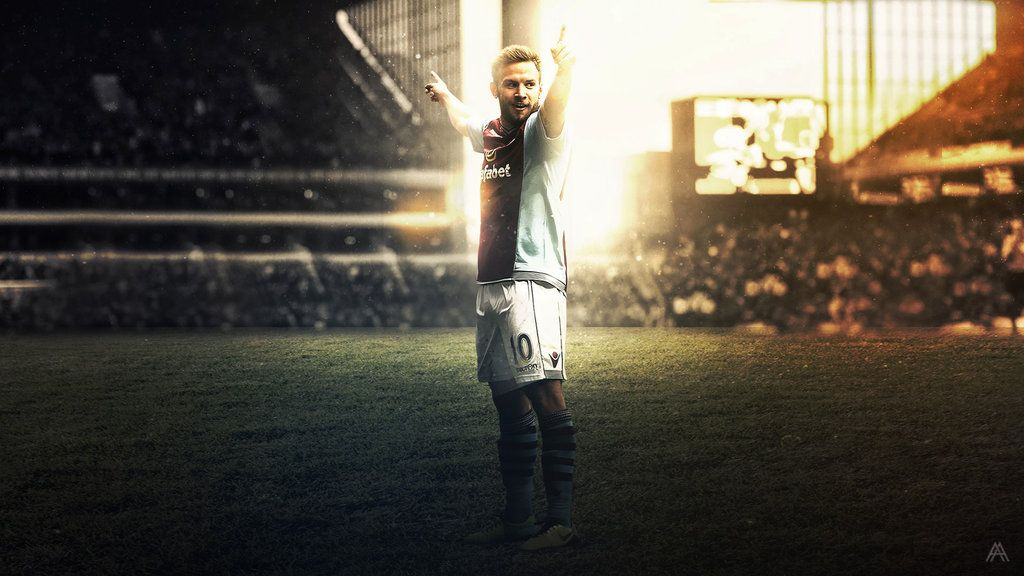 Andreas Weimann (Aston Villa) by #AlbertGFX #football #wallpaper