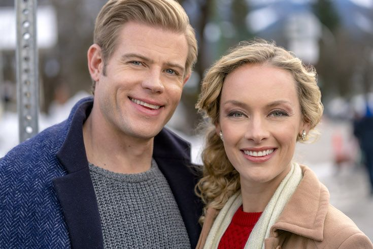 Marry Me At Christmas Rachel Skarsten And Trevor Donovan Make A