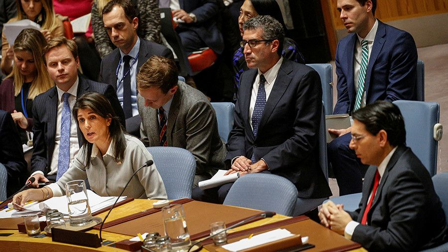 Israel Wont Be Bullied Into Agreement By The United Nations Us