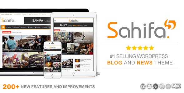 Sahifa v5.5.5 – Responsive WordPress News, Magazine | wp theme ...
