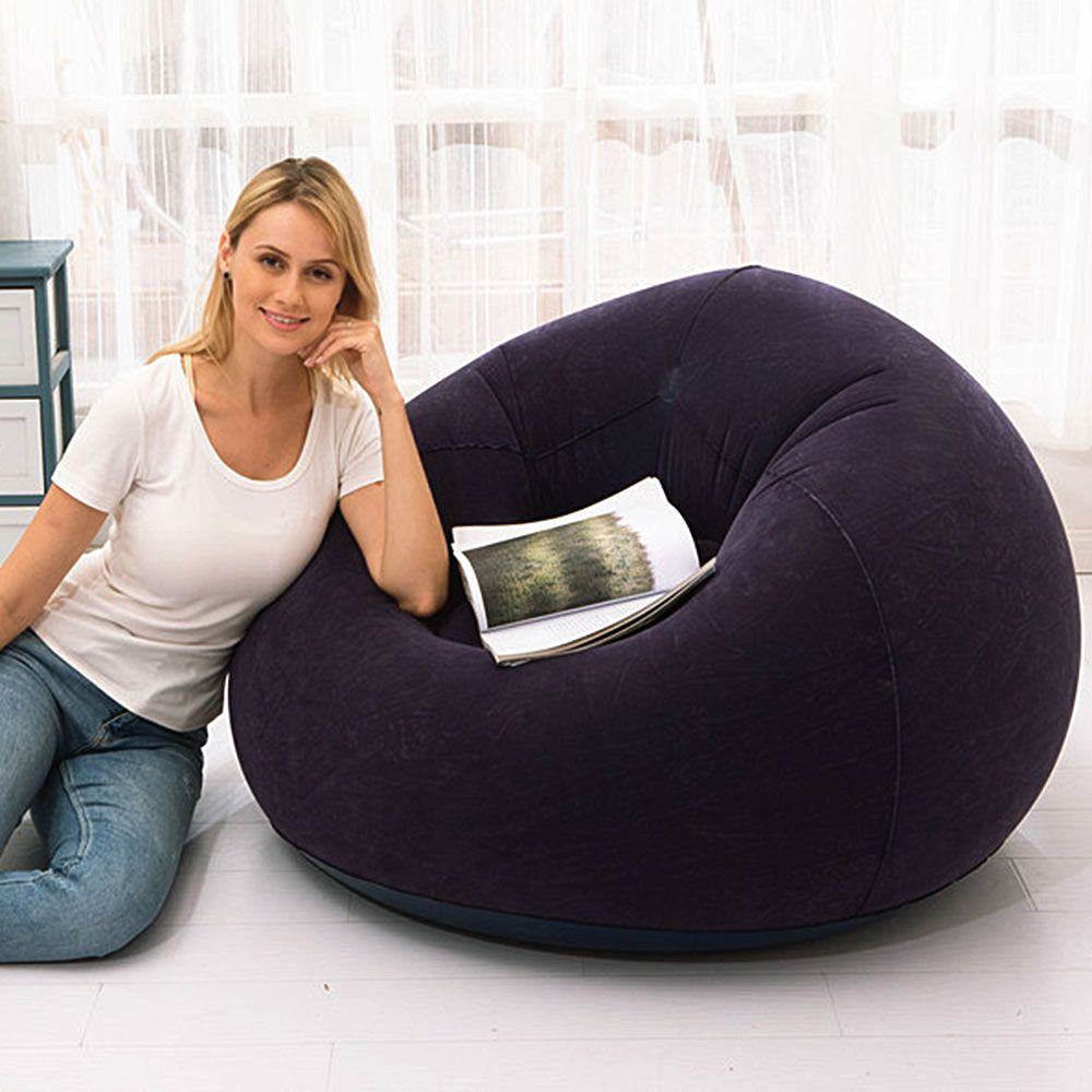 Inflatable Sofa Large Bean Bag Sofa Made Of Environment Friendly Pvc Material In 2020 Inflatable Sofa Bean Bag Sofa Large Bean Bag Sofa