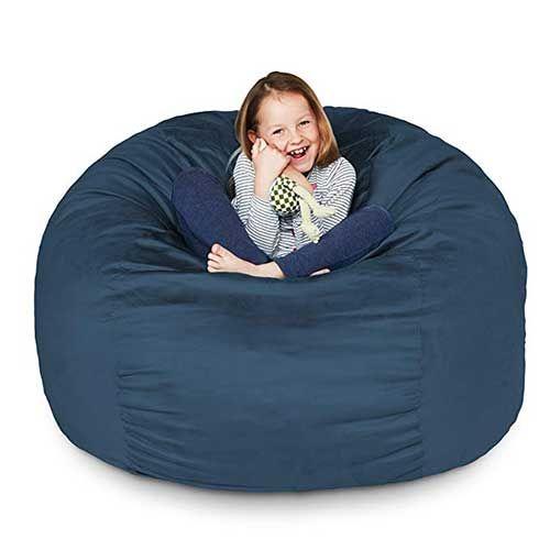 Pleasing 8 Best Bean Bag Chairs Lumaland Luxury 3 Foot Bean Bag Short Links Chair Design For Home Short Linksinfo