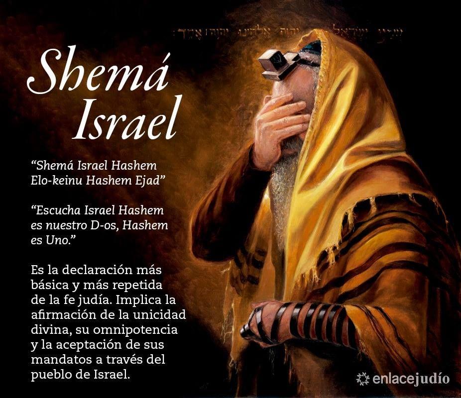 Qué Significa El Shemá Israel Por Qué Es El Rezo Judío Más Conocido Oraciones En Hebreo Biblia Hebrea Frases Judías