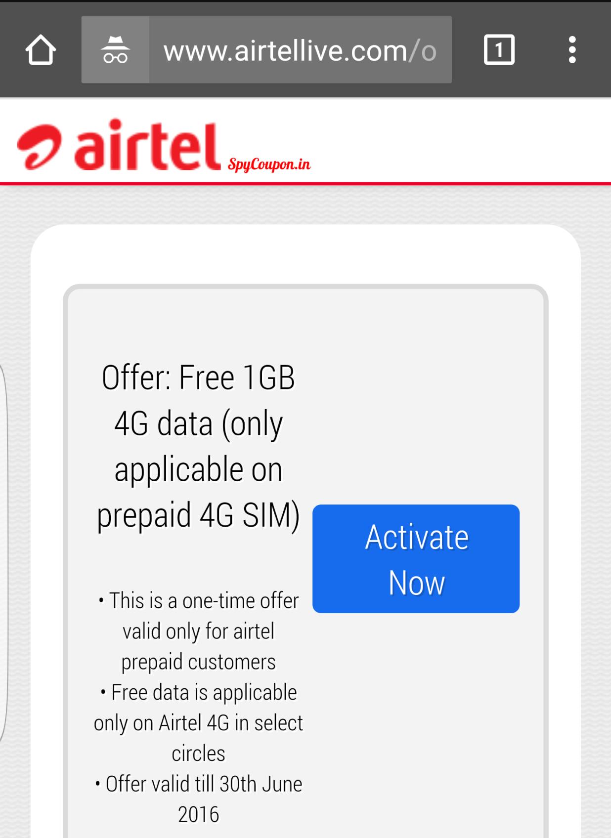 96b97a11e14966b79172450b7c86a121 - How To Get Free Internet On Airtel Prepaid Sim