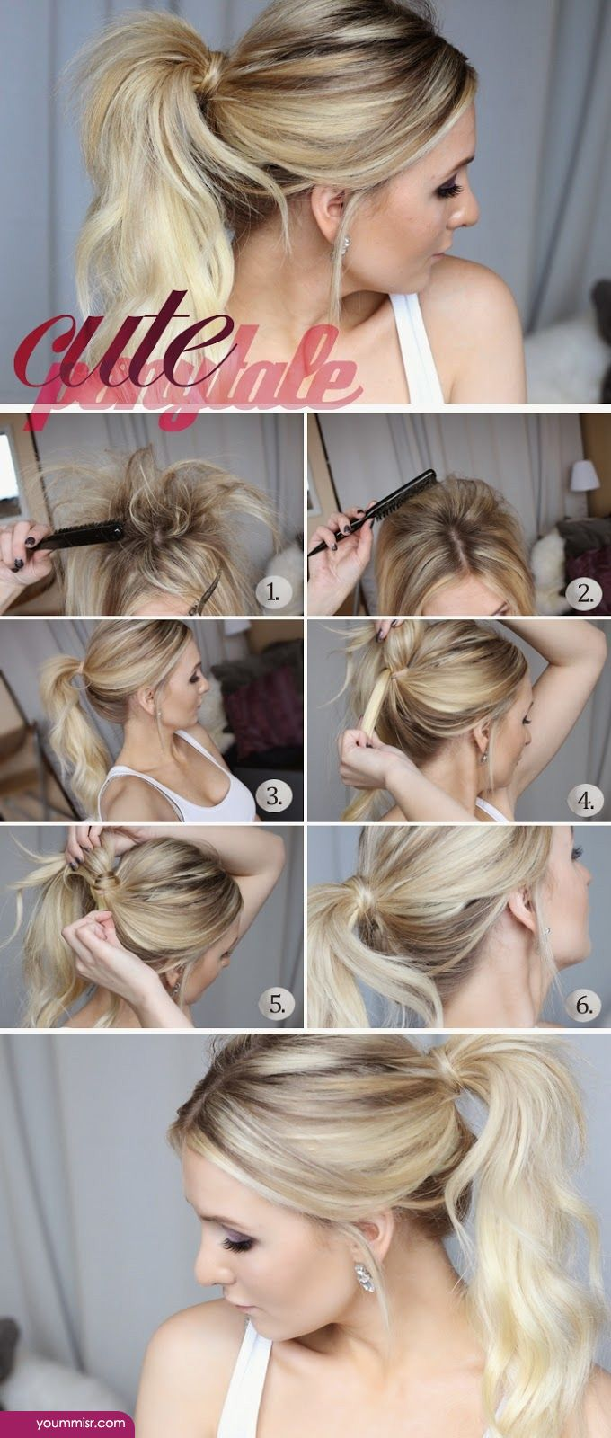Groovy Cool Easy Hairstyles 2015 2016 Step By Step Youtube Hairstyle Inspiration Daily Dogsangcom
