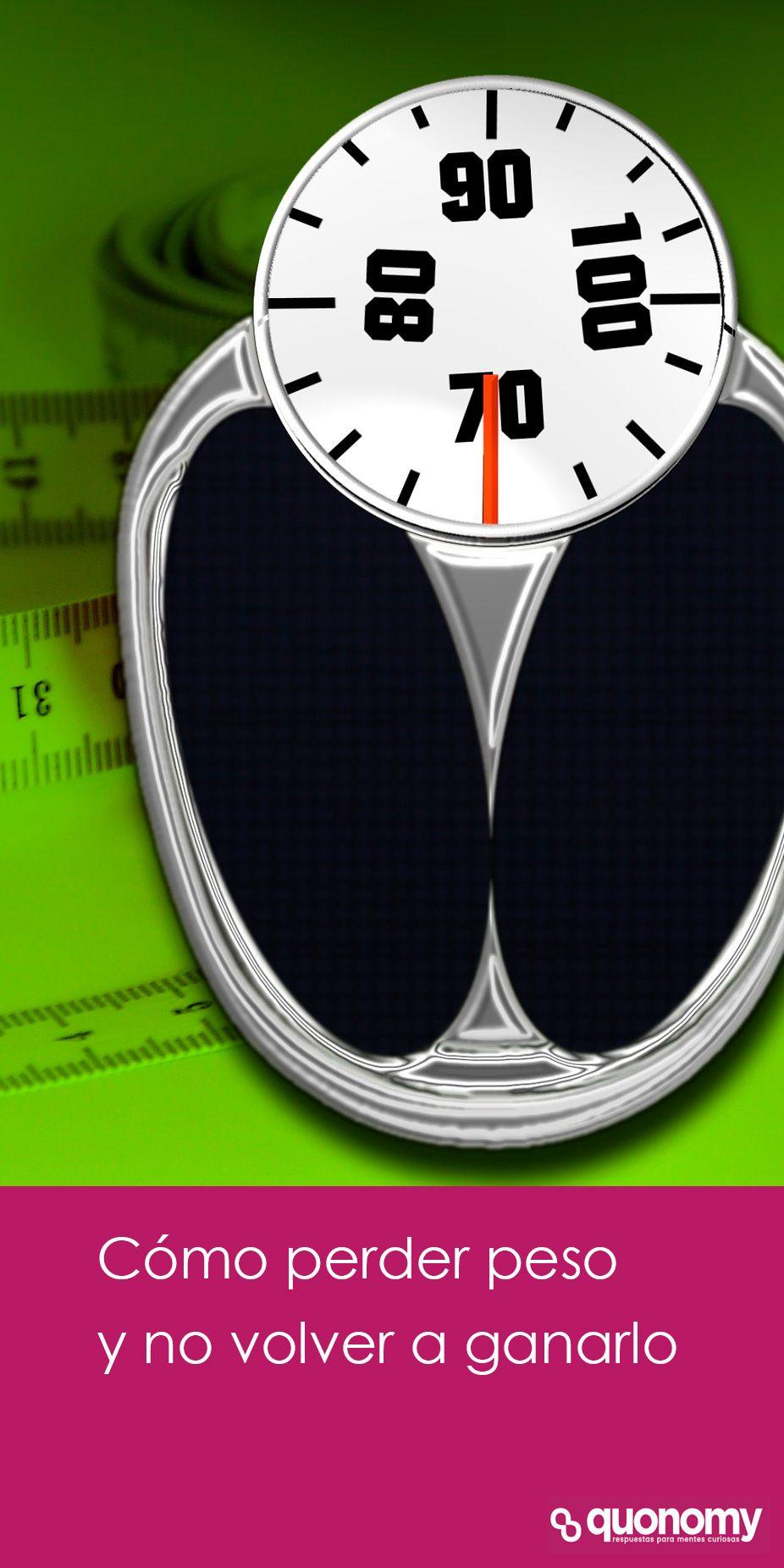 como perder peso y no volver a engordar