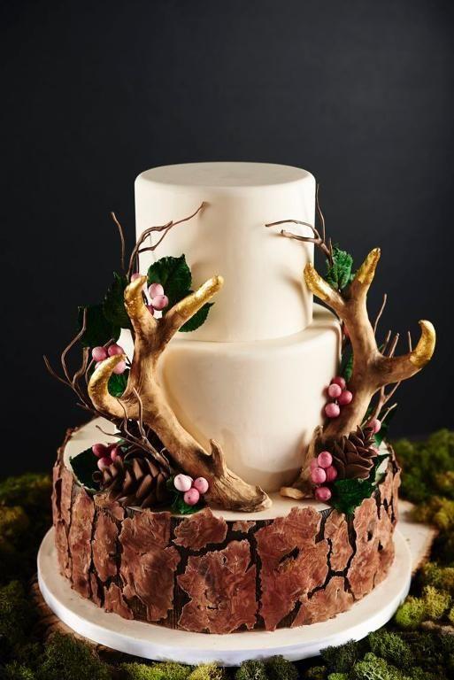 Naturally Elegant Cake Designs Nature Cake Decorating Class Fawn