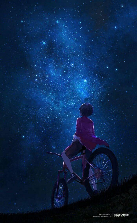 ノスタルジック おしゃれまとめの人気アイデア Pinterest 0730 チャモ 夕焼け イラスト 夜空 イラスト 銀河の壁紙
