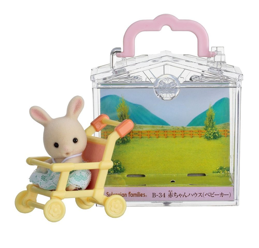 Sylvanian Families Calico Critters Baby Stroller
