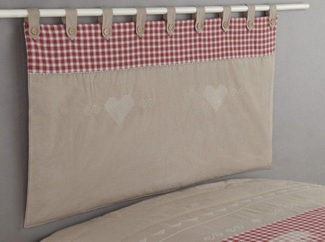 tete de lit chalet la redou ambiance chalet pinterest tete de chalet et en t te. Black Bedroom Furniture Sets. Home Design Ideas