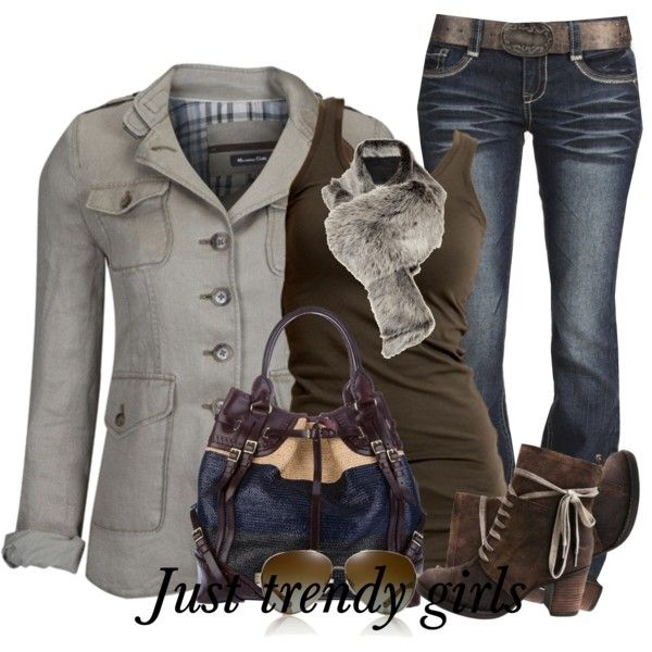A fashion look from January 2014 featuring VILA tops, Wallflower jeans and Miz Mooz ankle booties. Browse and shop related looks.