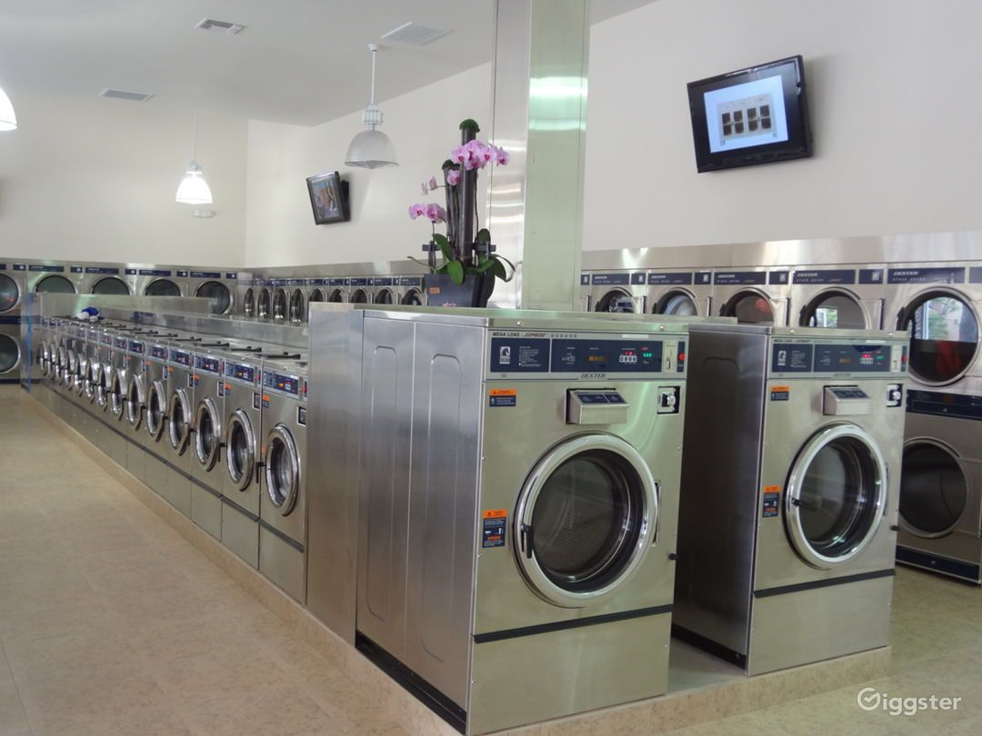 The Perfect Laundromat Coin Laundry Space Rent This Location On Giggster Coin Laundry Laundromat Coin Laundromat