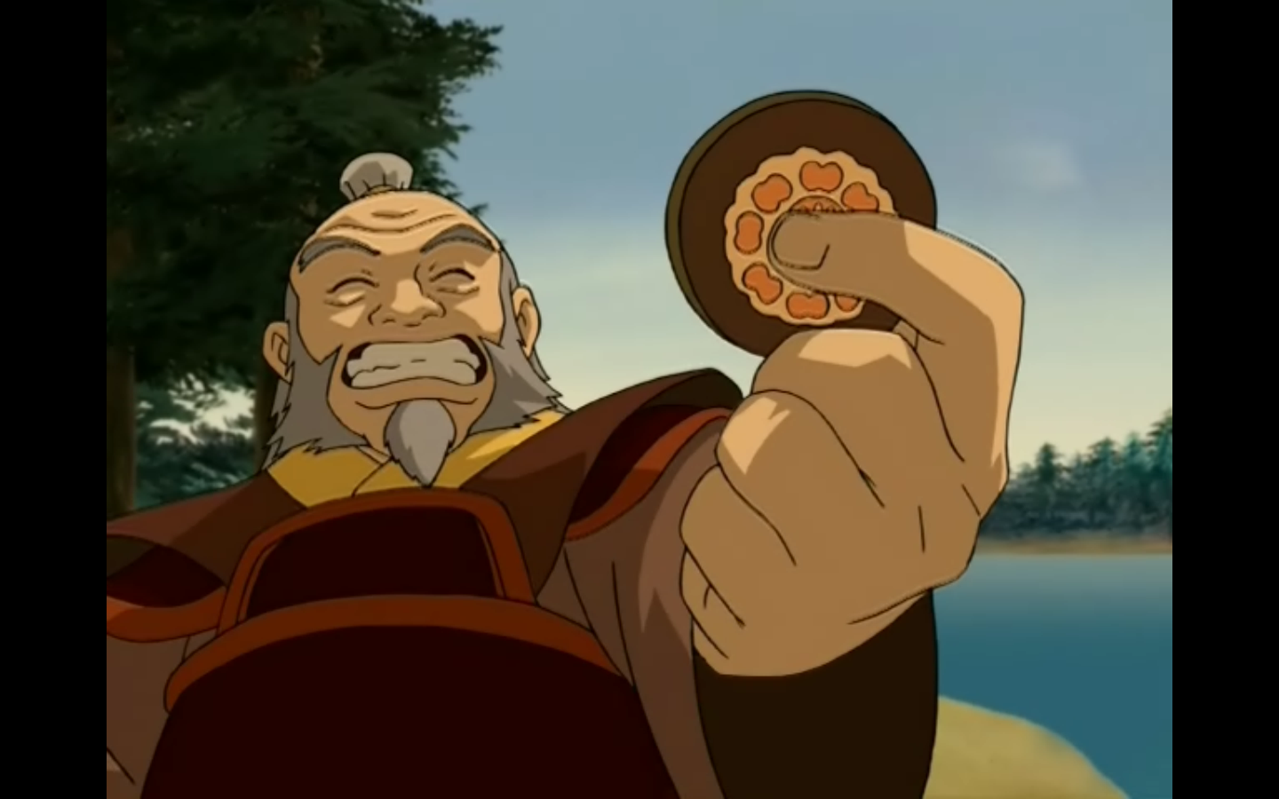 Spoiler Iroh Finds His White Lotus Tile The Last Airbender