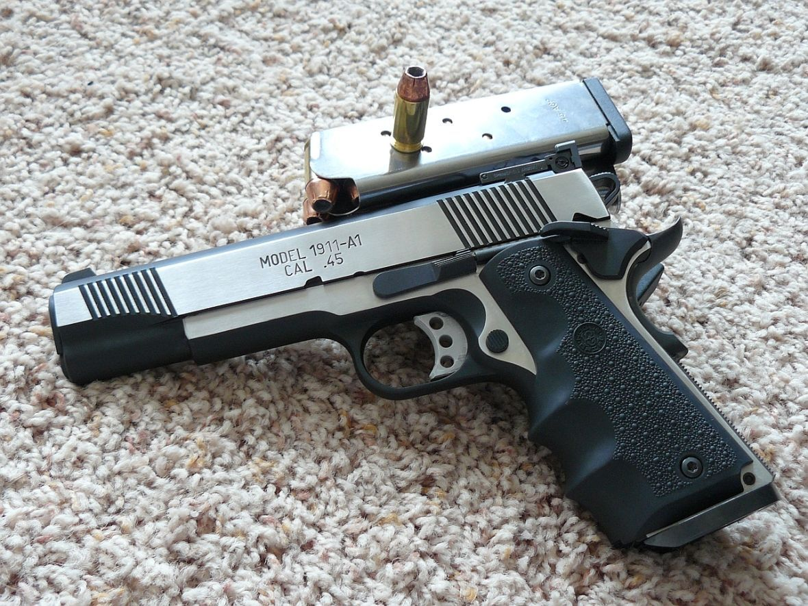 Springfield Armory Loaded Target 1911-A1  45ACP in black stainless