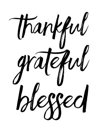 Grateful Quotes Magnificent Thankful Grateful Blessed I Picked Thankful Grateful And Blessed